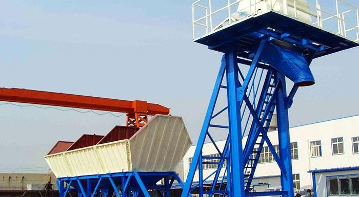 What are the advantages of portable concrete batching plant
