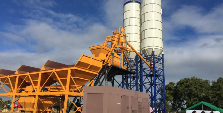 How to Install Concrete Silos of Batching Plant