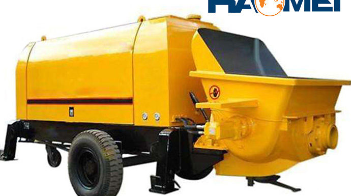 How to Choose a Suitable Trailer Mounted Concrete Pump