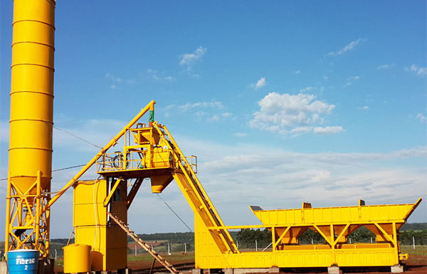Mobile concrete batching plant cost